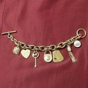 Authentic Michael Kors Charm Bracelet